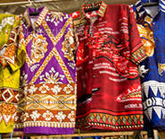 Tongan shirts  in Nuku'alofa town, Tonga, Society Islands, Pacif